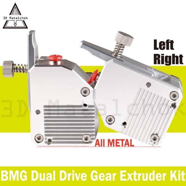 New!3D Matalchok ALL Metal BMG Bowden Extruder Dual Drive Extruder for 3d printer High performance MK8 ender 3 anet a8