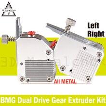 Novo! 3d matalchok extrusora de metal todo o bmg, extrusora bowden de unidade dupla para impressora 3d, alto desempenho mk8 ender 3 anet a8