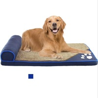 Dog Beds for Large Dogs House Sofa Kennel Square Pillow Husky Labrador Teddy Large Dogs Cat House Beds Mat