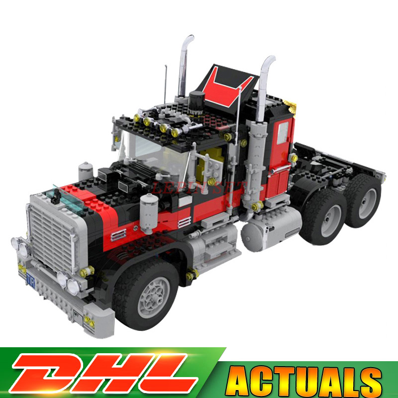 DHL Lepin 21015 1743Pcs The giant American container car Educational Building Blcoks Bricks Toys Gift Compatible with 5571