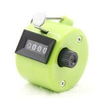 4 счетчика портативный электронный цифровой счетчик Дисплей Механический ручной подсчет таймер Футбол Гольф Спорт Счетчик 8 цветов