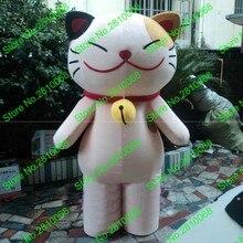 Сделать EVA материал шлем Бог Фортуна Джингл кошки талисман костюмы мультфильм одежда день рождения для вечеринок и маскарадов 894