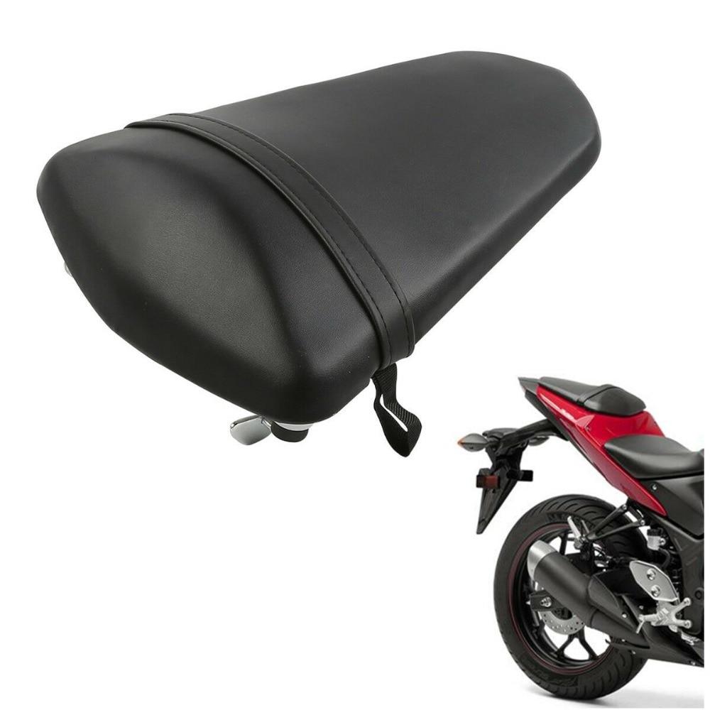 Motorcycle Rear Pillion Passenger Tandem Seat Cushion For Yamaha YZF R3 YZFR3 2015-2019