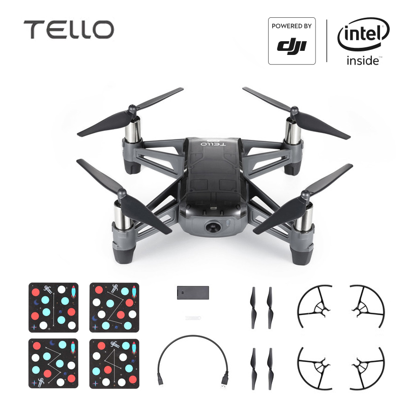 DJI Tello Camera Drone EDU Version Programmable Drone with Coding Education 720P HD Transmission Quadcopter FVR Helicopter