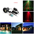 laser christmas lights outdoor Remote RG 12 Patterns Waterproof Latest Elf Laser Light projector garden landscape decorative