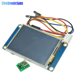 """Image 1 - 2.4"""" 2.4 Inch TFT 320 x 240 Resistive Touch Screen UART HMI LCD Module Display for Arduino Raspberry Pi TFT English Nextion"""