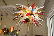 Free Shipping Special Customized Hand Blown Glass Chandelier
