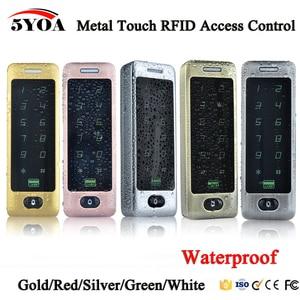 Image 1 - Waterproof Metal Touch 8000 Users Door RFID Access Control Keypad Case Reader 125khz EM4100 ID Card