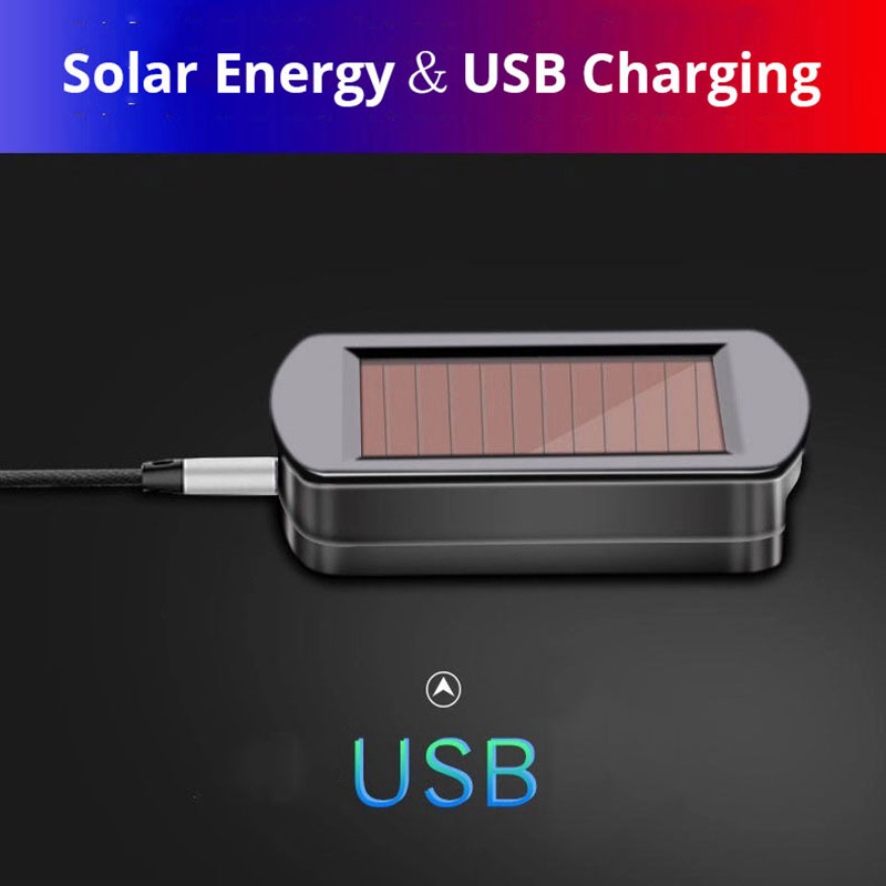 lowest price Auto Ashtray Rechargeable Solar Energy LED Car Ashtray Removable Cigarette Lighter Ashtray For Car Cup Holder Car Accessories