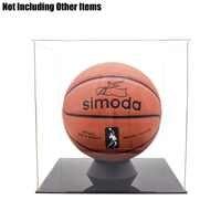 Odoria アクリルアセンブリディスプレイケース/ボックス 30 センチメートル 11.8 インチキューブ防塵ショーケースサッカーバスケットボールボクシング手袋フィギュア