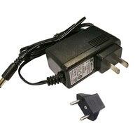 EU US Plug Adaptor Charger Vacuum Cleaner Parts For Ilife X5 V5 V5s V3 V5 Pro