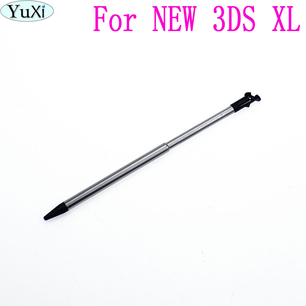 YuXi Portable Game Touch Pen Retractable 2 in 1 Mini Metal Stylus Touch Screen Pen For New Nintendo 3DS LL/XL Console