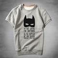 NEW i am not saying i am batman man Sweatshirt Winter Thick warm short sweatshirt Regular Comfortable Clothing Sweatshirt