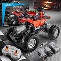 Pro RC SUV bloques de coche Technic Control remoto bloques de construcción Racing RC Drift coche ladrillos juguetes para niños Compatible con legoED