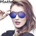 Mattol 4125 estilo de gafas de Sol Hombres mujeres Marca Diseñador gafas de Sol Gafas de Partido de La Celebridad de Lujo polit gafas de Sol gafas de modo 990607-1