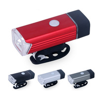 Bicycle Front Light Headlight USB Rechargeable Aluminum Cycling Led Light 5W 4 Modes Mountain Road Bike