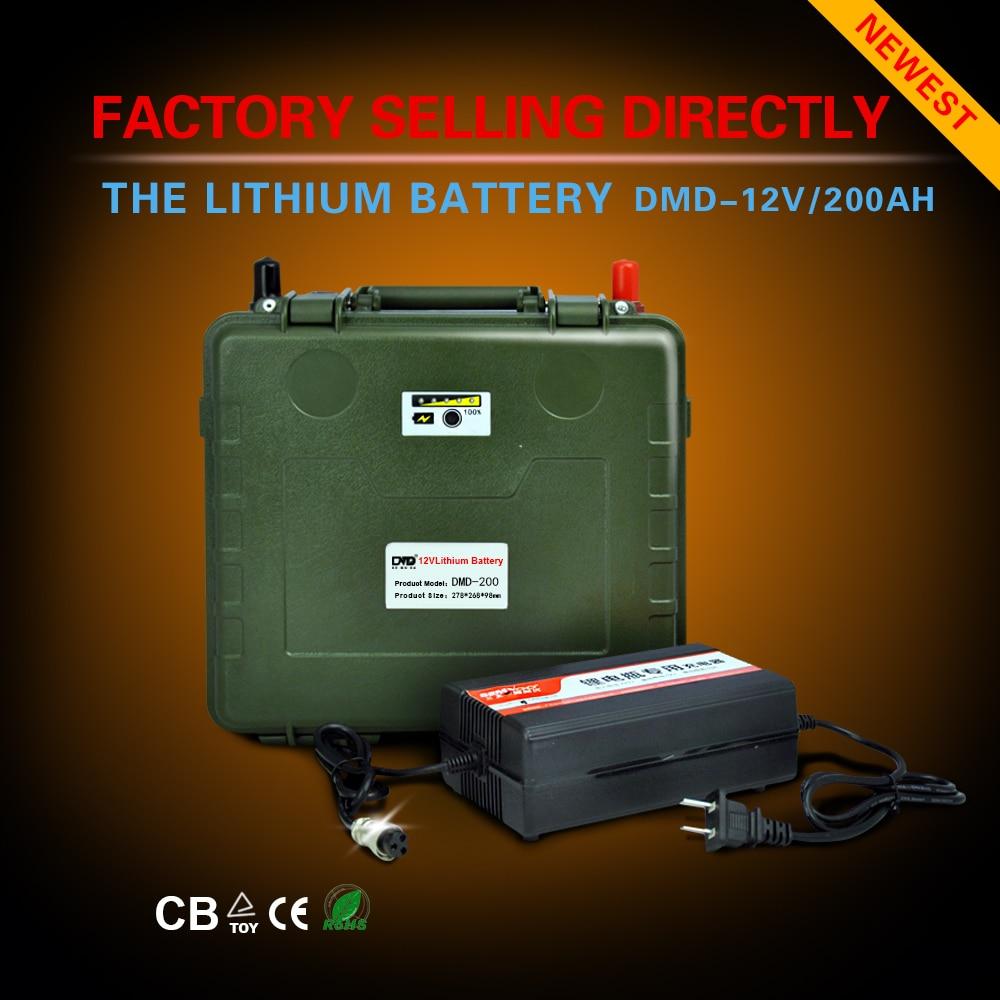 Быстрая зарядка Ультра Легкая Аккумуляторная аккумуляторные батареи 200ah 12 В для автомобиля солнечной системы Бесплатная доставка