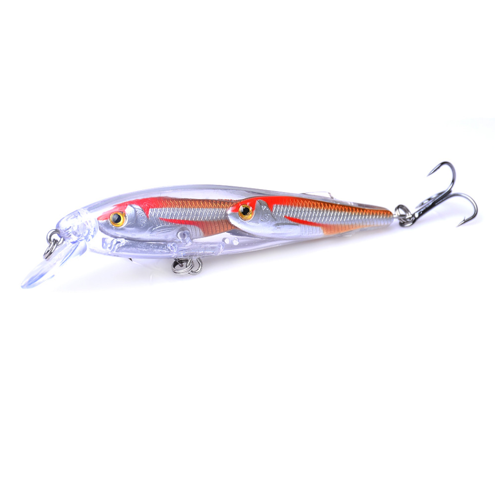 1PCS 10 5cm 11g Minnow Wobbler Fishing Lures Fishing Tackle Group Fishes Crankbait Pike Lure Freshwater Hard Baits Swim Bait in Fishing Lures from Sports Entertainment