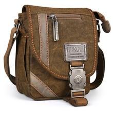лучшая цена 2018 Ruil Retro Shoulder Bags Multifunction Man Canvas Leisure Tooling Messenger Package Vintage Handbag European American Style