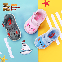 2019 Summer Baby Girl Sandals Cartoon Cute Soft soled Comfortable Children's Sandals #R9L6665