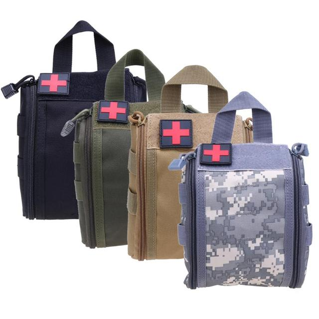 Waterproof Tactical Medical First Aid Kit Bag Molle Emt Cover Outdoor Emergency Military Package Travel