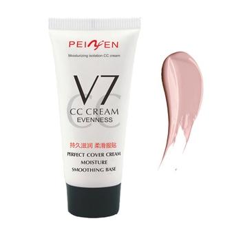 Neue Gesicht Make-Up Foundation Perfekte Abdeckung Poren Concealer ölsteuer Pigment Lang anhaltende Feuchtigkeitsspendende BB CC Creme Basis Comestic