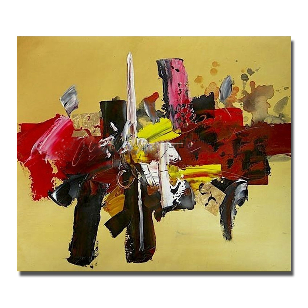 ⓪Modern Paintings for Living Room Decor Abstract Color Oil Painting ...