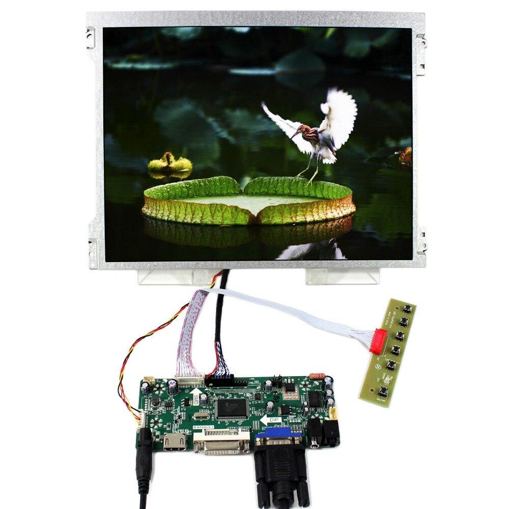 HDMI VGA DVI Audio LCD Controller Board+12.1 M121GNX2 1024x768 LCD Screen hdmi dvi vga control board 8 9inch n089l6 1024 600 lcd panel touch screen n089l6 l02 hsd089ifw1 b089aw01 v3 ltn089nt01