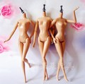 Free Shipping 5Pcs/lot Nude Doll Body without head for Barbies Original Movable 1/6 Doll Body for DIY Girl's Christmas Gift Toy