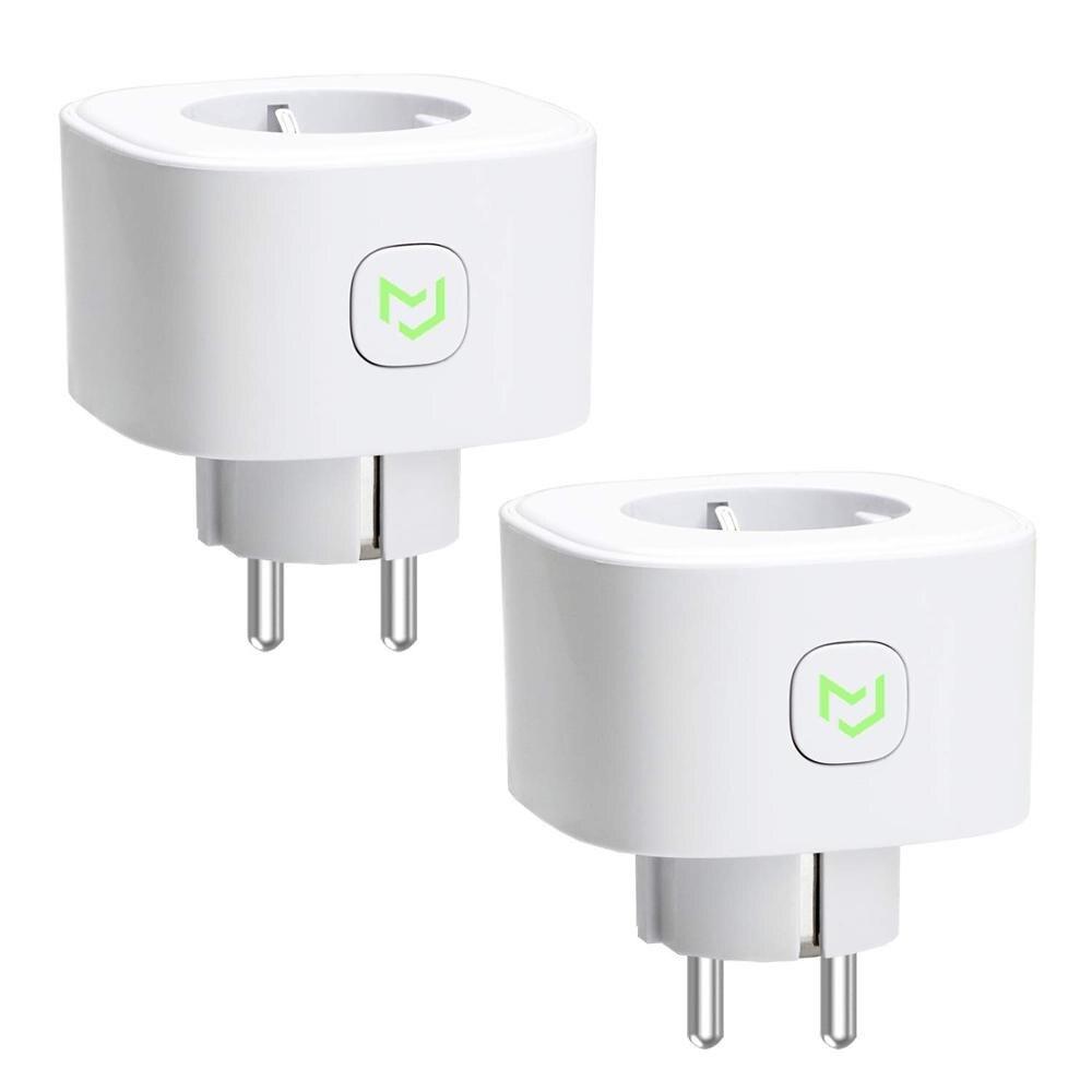 Smart WiFi Plug, Alexa & Google Assistant & IFTTT Supported, App Remote Control Meross MSS210 EU Standard