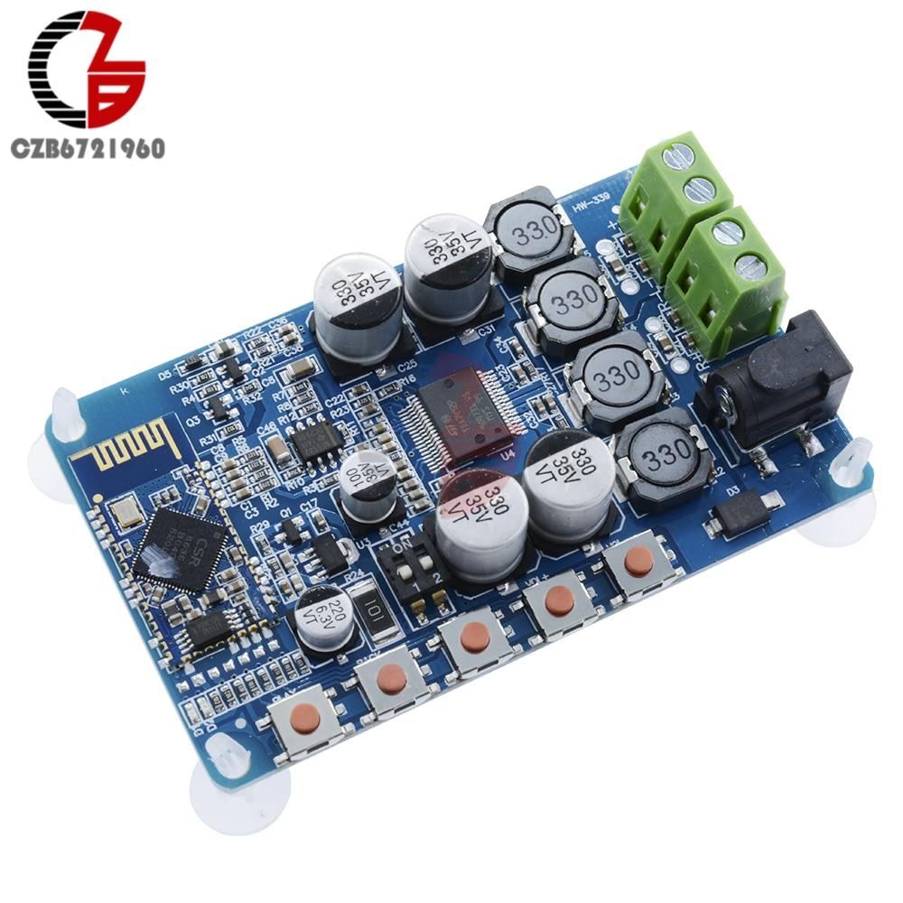 TDA7492P 50W+50W CSR8635 Bluetooth 4.0 Audio Receiver Digital Amplifier Board