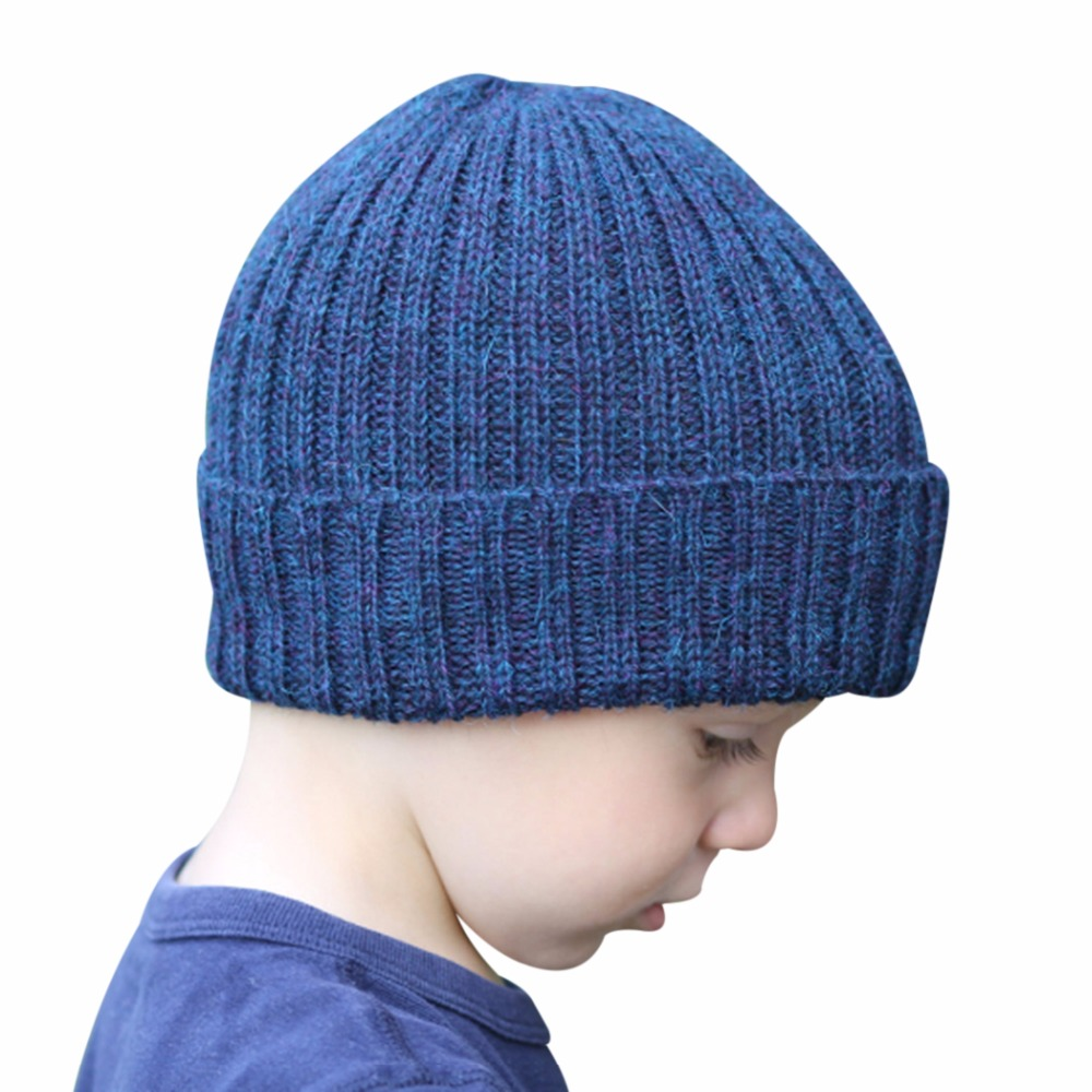 где купить Winter 8 Colors Knit Hat Baby Casual Solid Beanies Girls Boys Warm Ski Caps Kids Skullies Children Hat Casquette Chapeau Babys 2 дешево