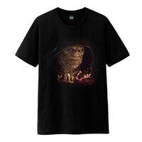Mens Casual 2016 Movie Suicide Squad Killer Croc Waylon Jones Cosplay Katoen O-hals Printing Korte Mouw T-Shirts Shirts