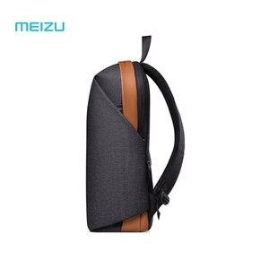 Image 2 - Original Meizu backpacks Waterproof School Backpack brief style Large Capacity Student Bags Laptop For iPad Macbook bag