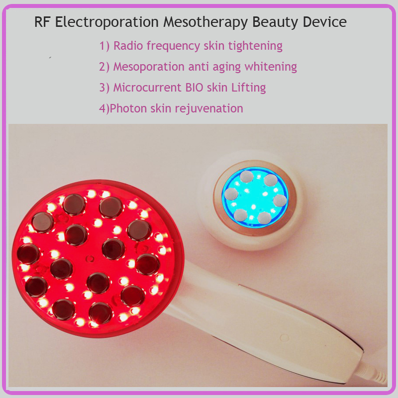 4 IN 1 RF Radio Frequency Mesotherapy BIO Microcurrent Face Lift Skin Tighten LED Photon Rejuvenation Face And Body Massager steven j bennett corporate realities and environmental truths