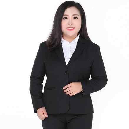 プラスサイズ 9XL 女性黒ブレザーとジャケットスーツの女性作業服ブレザーフォーマル女性の上着 Roupas Feminina DJ750