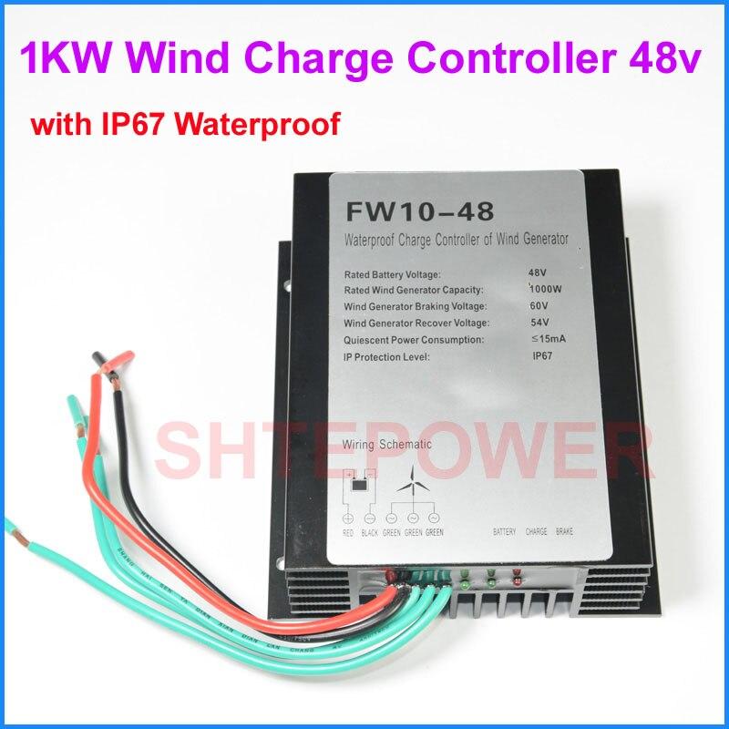 48 v AC generatore di vento 1000 w 1KW Turbine Eoliche Trifase AC 24 v/48 v scelte impermeabile IP67 Gradi48 v AC generatore di vento 1000 w 1KW Turbine Eoliche Trifase AC 24 v/48 v scelte impermeabile IP67 Gradi