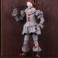 Neca Stephen King's It Clown Action Figure Collectible Model Toy