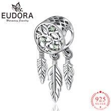 Eudora 100% 925 пробы серебряное дерево жизни Ловец снов модные