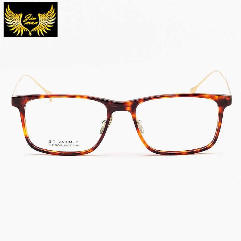 Nouveau hommes femmes Style TR90 avec titane pur haute qualité Super léger carré lunettes de vue mode optique cadre pour hommes femmes