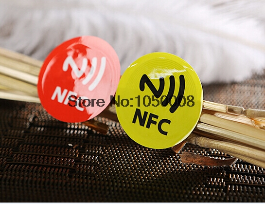 198pcs NFC Tags Sticker 13.56MHz ISO14443A Ntag 213 NFC Stickers Universal Lable Ntag213 RFID Tag for all NFC enable--- 6pcs/Lot
