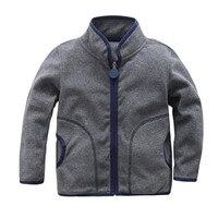 2017 Lente & Herfst Kinderen Kids Jongen meisje hoodies Baby Jongens meisjes streep fleece jassen kids jongens sweatshirt