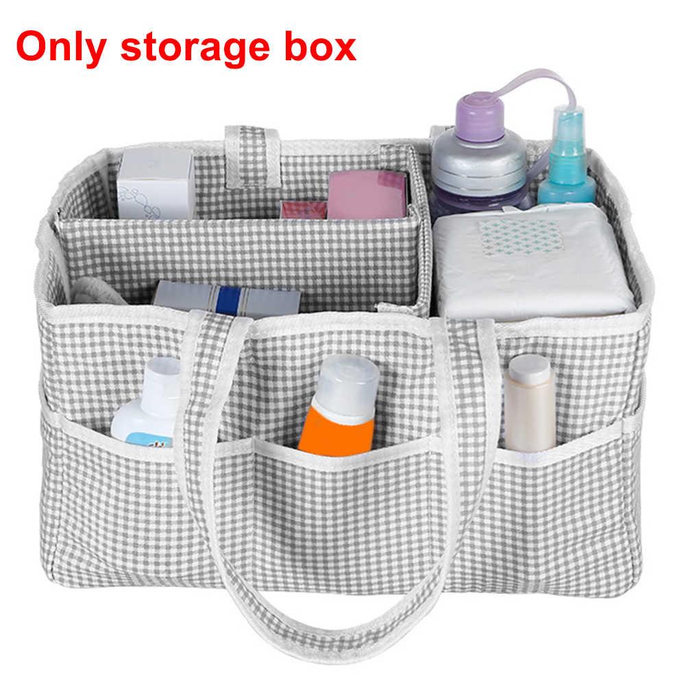 Útil Caixa De Armazenamento Dobrável Fralda Kiddy Para Cuidados Com o Bebê Em Casa de Viagem Tote Recipiente Berçário Portátil