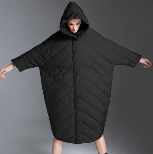 Women   Down     Coat   Winter Jacket Women 90% White Duck   Down     Coat   2018 Warm Parka Female hooded Thick   Down   Jacket Hot Parka FR3016