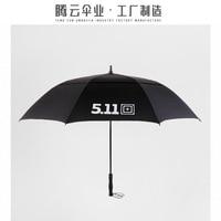 511 Military Special Umbrella Super Large Golf Automatic Umbrella Business Umbrella Double Windproof and Rainy Unbrella