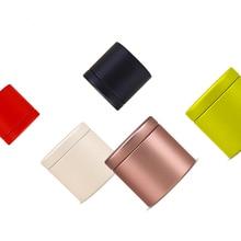 Dia47X45mm Круглый Мини прекрасный чай жестяная коробка Горячая герметичный caddy офисный металлический ящик для хранения коробка 100 шт./лот