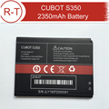 CUBOT S350 Battery Replacement 100% Original 2350mAh Battery Replacement For CUBOT S350 Smart Mobile phone Free Shipping