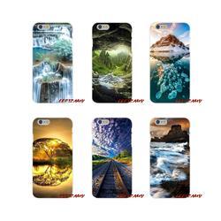 Чудеса природы аксессуары для телефона Чехлы для samsung Galaxy S4 S5 мини S6 S7 край S8 S9 S10 Plus Note 3 4 5 8 9