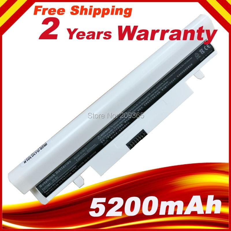 White 6Cells 11.1V 4400mAh Laptop Battery for Samsung N143 N148 N145 N150 N250 N260 Plus NP-N143 AA-PB2VC6BWhite 6Cells 11.1V 4400mAh Laptop Battery for Samsung N143 N148 N145 N150 N250 N260 Plus NP-N143 AA-PB2VC6B