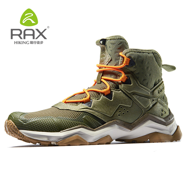 bcb14f2d46b9 Rax Mens Breathable Hiking Shoes Hiking Boots Summer Trekking Shoes Walking  Outdoor Sneakers Climbing Mountain Boots Zapatillas